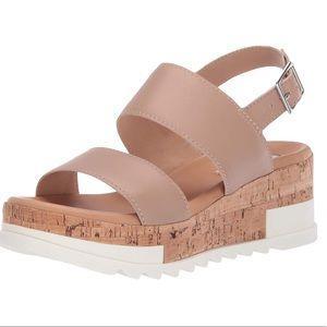 🆕Steve Madden Brenda Wedge Platform Leather 7 8.5